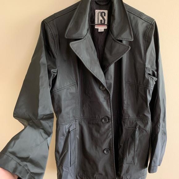 CS Signature Jackets & Blazers - Black Rain Wet Weather Storm Jacket Coat